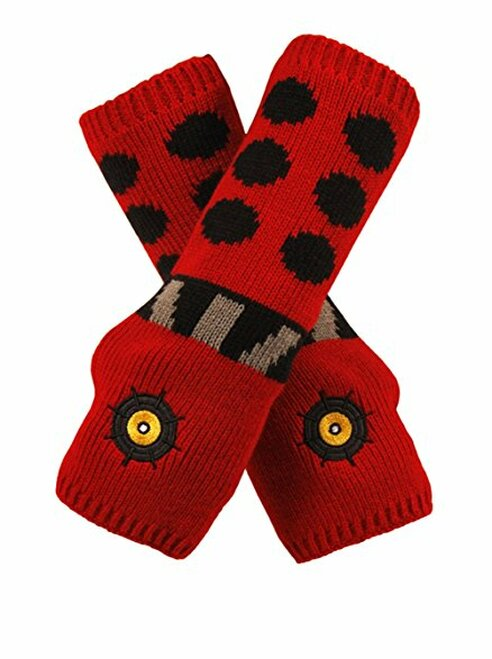 Doctor Who: RED Dalek Arm Warmers