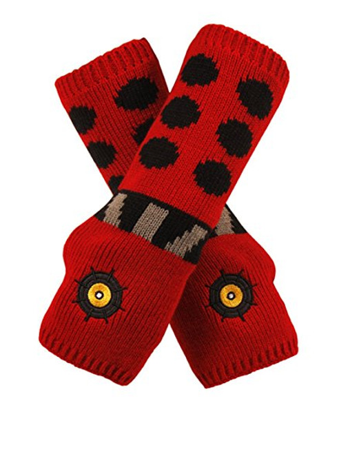 Red Dalek Arm Warmers