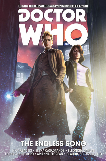 Doctor Who: The Tenth Doctor - Vol. 4 - THE ENDLESS SONG (Soft Cover Graphic Novel)