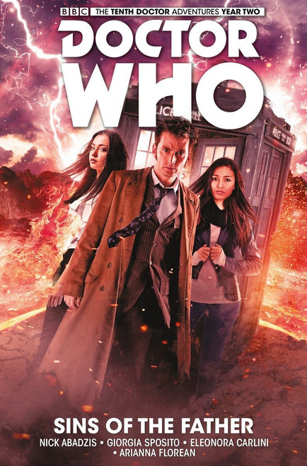 Doctor Who: The Tenth Doctor - Vol. 6 - SINS OF THE FATHER (Soft Cover Graphic Novel)