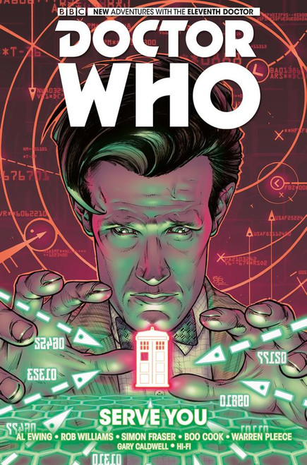 Doctor Who: The Eleventh Doctor - Vol. 2: SERVE YOU (Hardcover Graphic Novel)