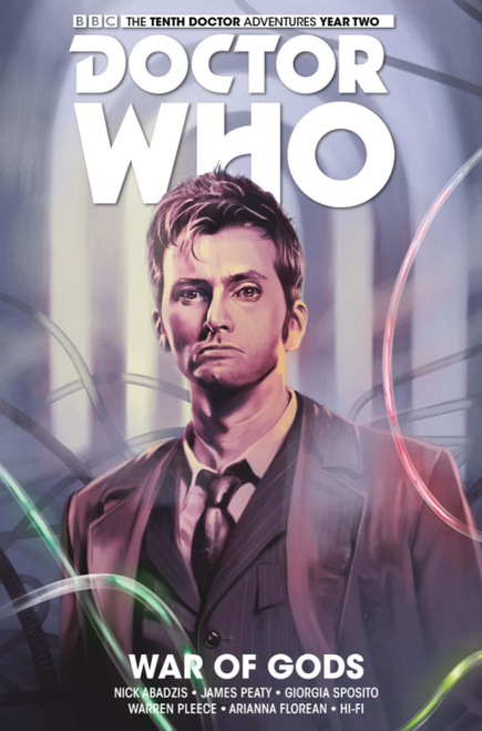 Doctor Who: The Tenth Doctor - Vol. 7: WAR OF GODS (Hardcover Graphic Novel)