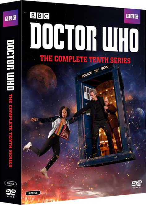 Doctor Who Complete Series 10 DVD Set  - Starring Peter Capaldi as the Doctor