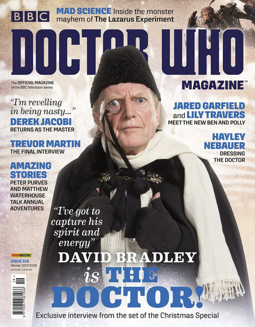 Doctor Who Magazine #519 - David Bradley is the Doctor!