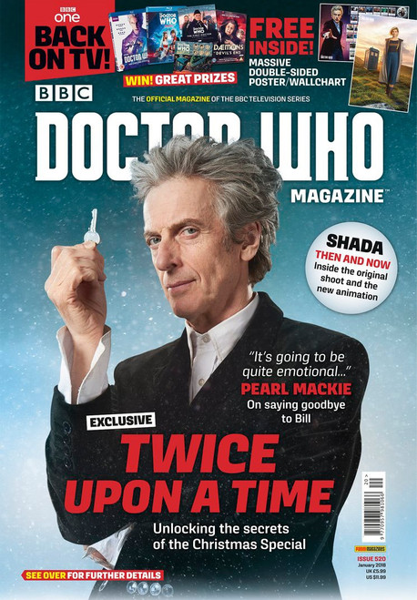 Doctor Who Magazine #520