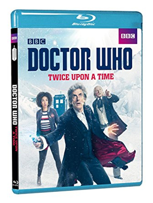 "Doctor Who ""Twice Upon A Time"" 2018 Christmas Special Blu-Ray"