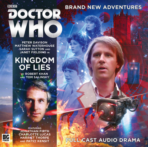 Doctor Who: KINGDOM OF LIES - Big Finish 5th Doctor Audio CD #234