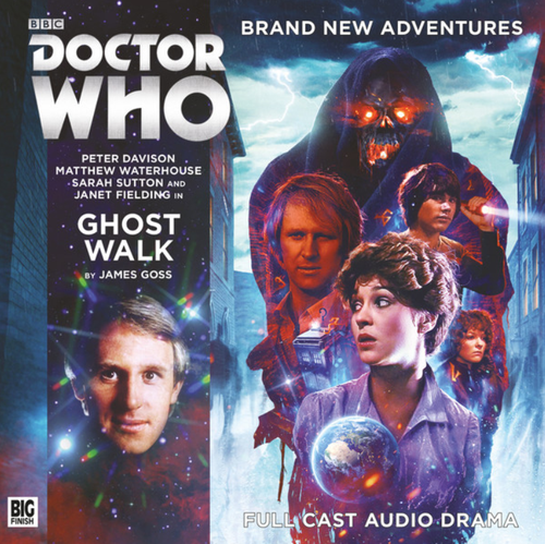 Doctor Who: GHOST WALK - Big Finish 5th Doctor Audio CD #235