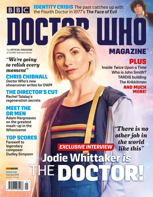 Doctor Who Magazine #521