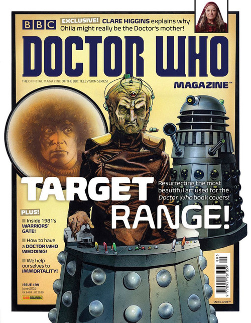 Doctor Who Magazine #499 - Target Book Range!