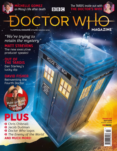 Doctor Who Magazine #523