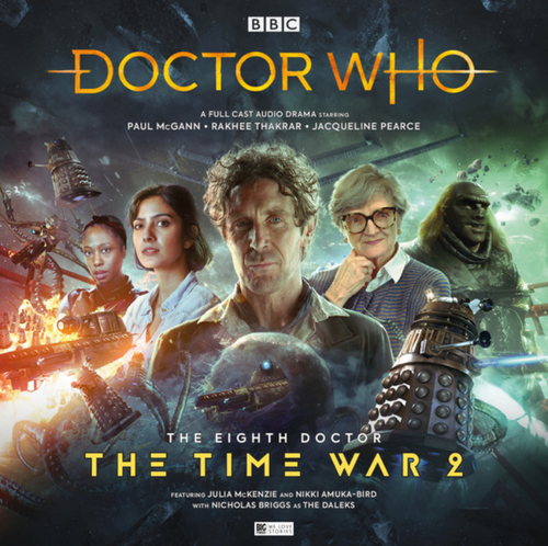Doctor Who: The TIME WAR 2 - Eighth Doctor (Paul McGann) Big Finish Box Set
