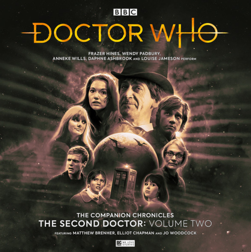 Companion Chronicles - The Second Doctor: Volume 2 - Big Finish Audio CD