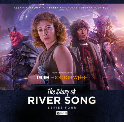 The Diary of River Song: Series 4 - Big Finish Audio CD Boxed Set