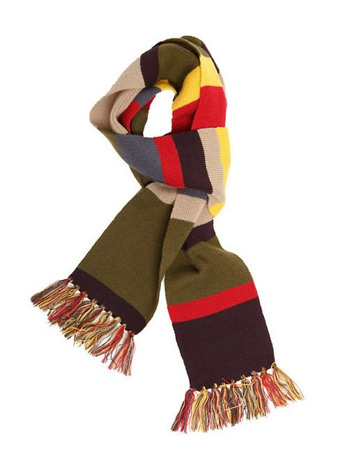 Fourth Doctor 6 Foot Costume Scarf