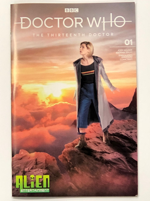Doctor Who: Titan Comics 13th Doctor #1 - (Alien Entertainment EXCLUSIVE) Jodie Whittaker Photo Cover
