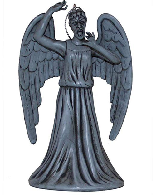 Doctor Who Weeping Angel Christmas Ornament - Screaming Angel (Don't Blink!!)