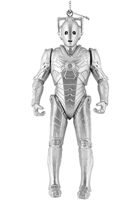 Doctor Who Cyberman Christmas Ornament