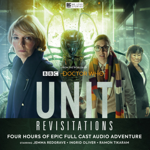 UNIT #7: REVISITATIONS - Big Finish Doctor Who Series Audio CD Boxed Set