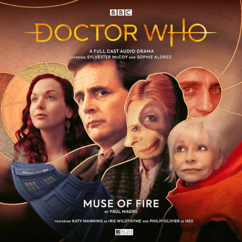 Doctor Who: MUSE OF FIRE - Big Finish 7th Doctor Audio CD #245