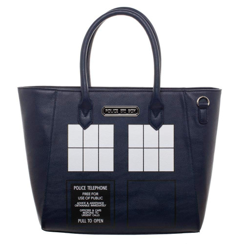 Doctor Who TARDIS Rainbow Tote Purse