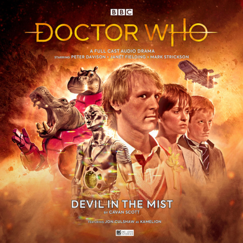 Doctor Who: DEVIL IN THE MIST - Big Finish 5th Doctor Audio CD #247