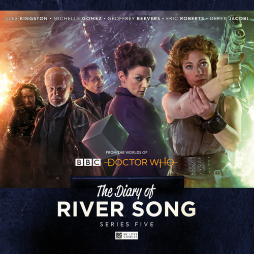 The Diary of River Song: Series 5 - Big Finish Audio CD Boxed Set
