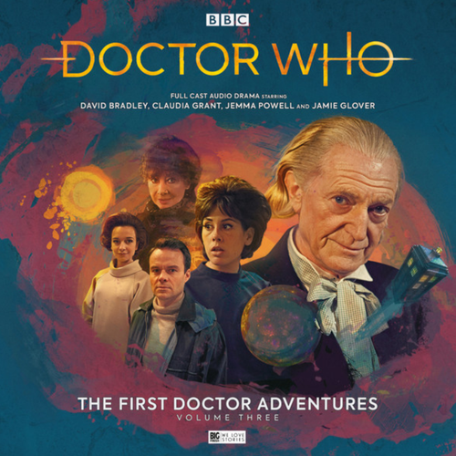 Doctor Who: The First Doctor Adventures (David Bradley) - Volume 3 (Big Finish Audio Box Set)