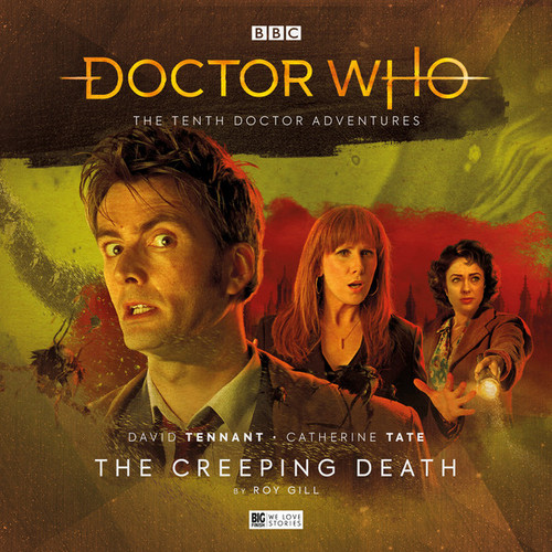 Doctor Who: The Tenth Doctor Adventures 3.3 - THE CREEPING DEATH - Big Finish Audio CD