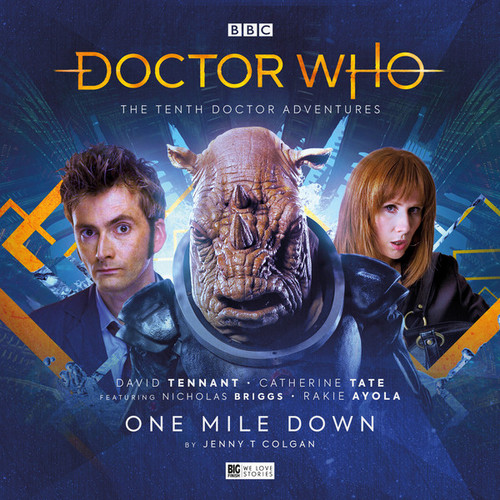 Doctor Who: The Tenth Doctor Adventures 3.2 - ONE MILE DOWN - Big Finish Audio CD