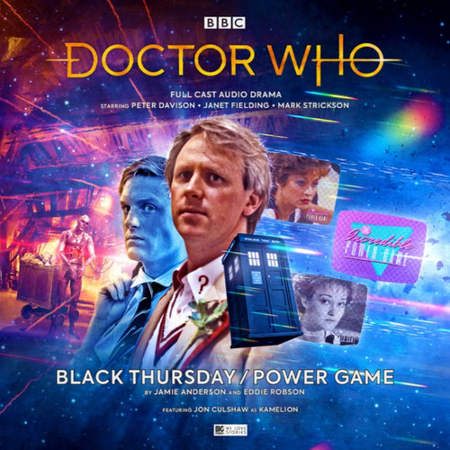 Doctor Who: BLACK THURSDAY/POWER GAME - Big Finish 5th Doctor Audio CD #248
