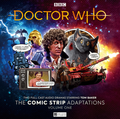 Doctor Who: The Comic Strip Adaptations: Volume 1 - Big Finish Audio Box Set