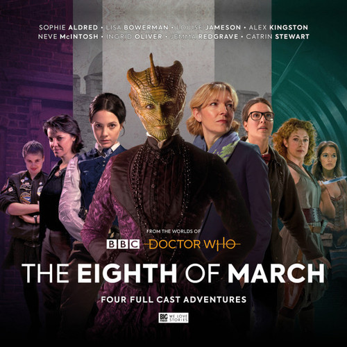 From the Worlds of Doctor Who: THE EIGHTH OF MARCH - Big Finish Audio CD Boxed Set