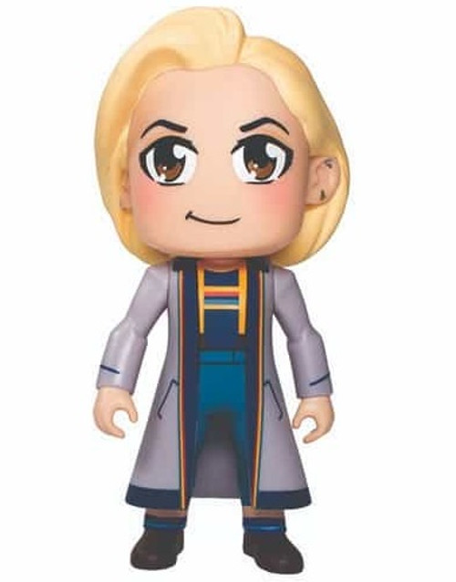 Doctor Who Kawaii Titan 6.5 inch Vinyl Thirteenth Doctor Figure (Designed by Kelly Yates)