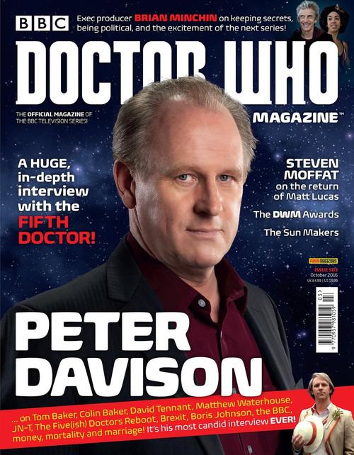 Doctor Who Magazine #503 - Peter Davison Interview