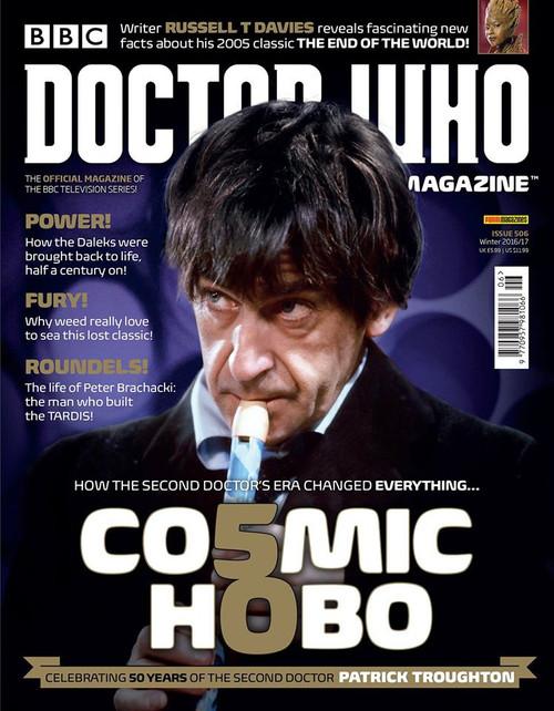 Doctor Who Magazine #506 - Comic Hobo:  50 Years of Patrick Trougton