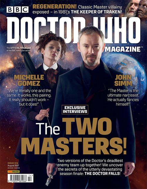 Doctor Who Magazine #514
