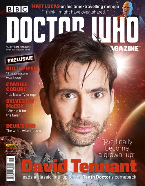 Doctor Who Magazine #518 (David Tennant)