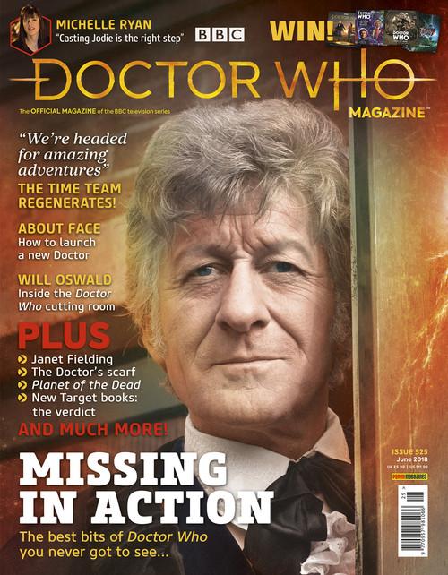 Doctor Who Magazine #525