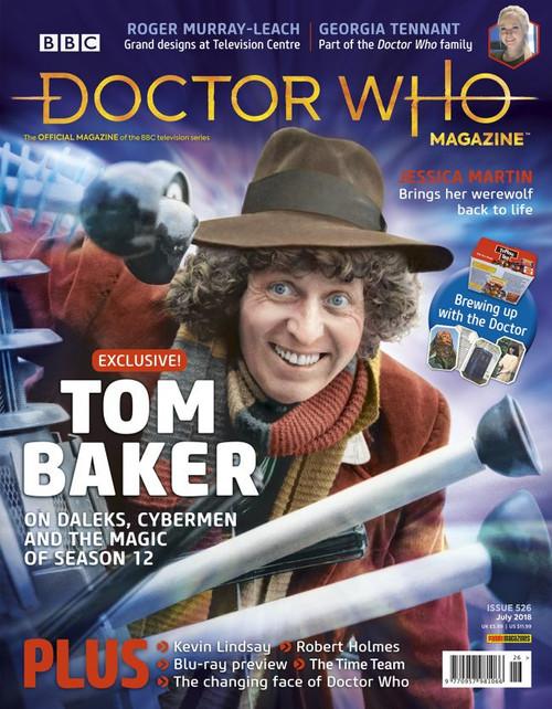 Doctor Who Magazine #526 (Tom Baker)