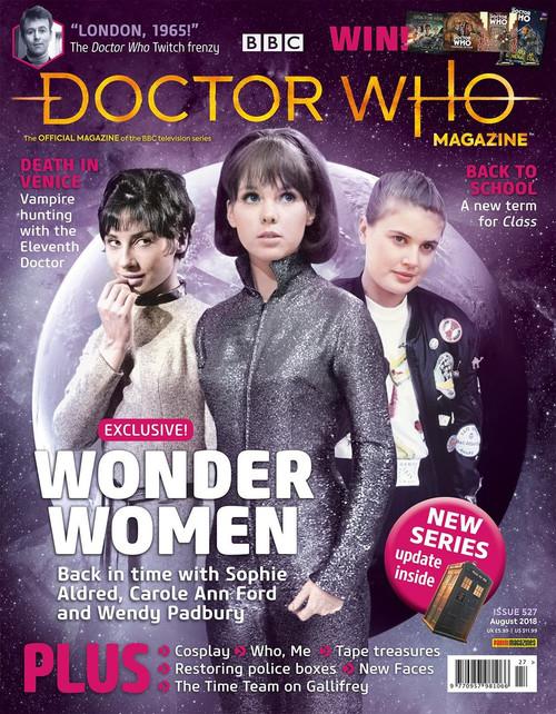 Doctor Who Magazine #527