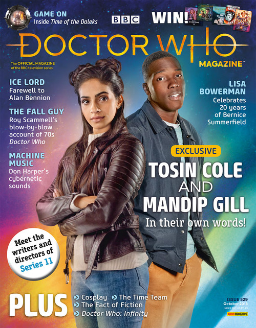 Doctor Who Magazine #529 (Poly-bagged Issue with Poster)