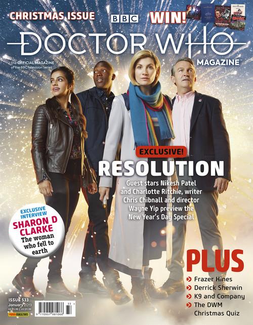 Doctor Who Magazine #533