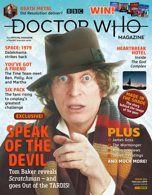 Doctor Who Magazine #534 - Speak of the Devil - Tom Baker's Scratchman