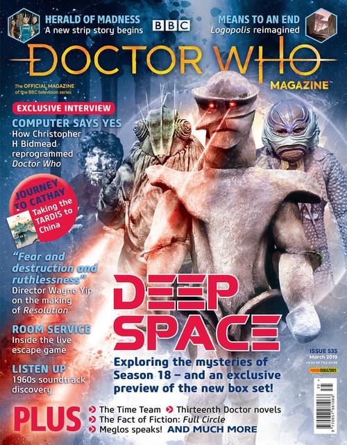 Doctor Who Magazine #535