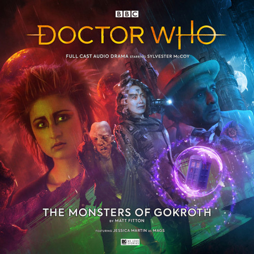 Doctor Who: THE MONSTERS OF GOKROTH - Big Finish 7th Doctor Audio CD #250