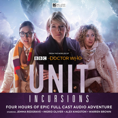 UNIT #8: INCURSIONS - Big Finish Doctor who Series Audio CD Boxed Set