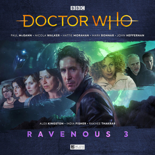 Doctor Who: RAVENOUS 3 - Eighth Doctor (Paul McGann) Big Finish Box Set