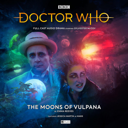Doctor Who: THE MOONS OF VULPANA - Big Finish 7th Doctor Audio CD #251
