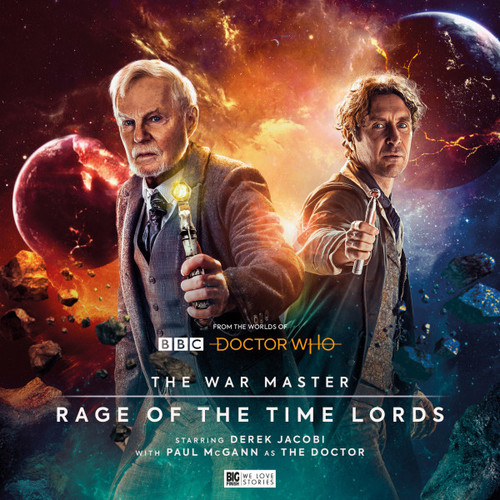 Doctor Who: The War Master Vol. 3: RAGE OF THE TIME LORDS - Big Finish Audio CD Boxed Set